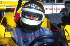 Jean-PIERRE JARIER ATS RACING Penske PC4 Gran Premio di Spagna 1977 fotografia 2