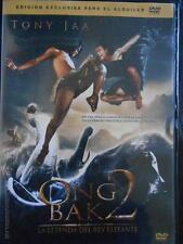 DVD ONG BAK 2 (TONY JAA) - LA LEYENDA DEL REY ELEFANTE - EDICION DE ALQUILER (4P