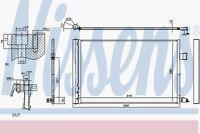 Nissens Condenser 940808 Fits JAGUAR XE 2 01/15--
