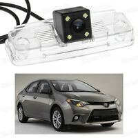 4 LED Car Rear View Camera Reverse Backup Parking for Toyota Corolla 2014 2015
