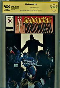 SHADOWMAN #8 CBCS 9.8 2X SIGNED BY BOB LAYTON & BOB HALL-1ST MASTER DARQUE!!!