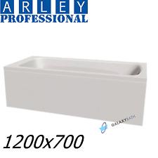 ARLEY MODERN RECTANGULAR 5MM ACRYLIC BATHTUB 1200 x 700mm WITH LEGS HIGH QUALITY