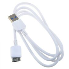 White USB3.0 Data Cable Cord for Samsung D3 Station 2TB External Hard Disk Drive