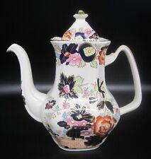 Mason's Ironstone 'Mandarin' Coffee Pot