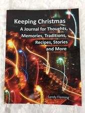 Keeping Christmas Book!~Journal for Thoughts, Memories, Traditions, Ect! New!!