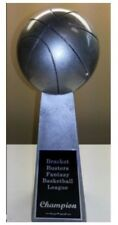 """Basketball Lombardi Style Champion  Trophy-  14"""" Tall - Engraved FREE"""