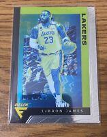LeBron James Panini Chronicles 19-20 Flux  SP No 591 Lakers