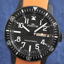 Fortis B-42 Cosmonaut Day-Date Automatik Titan Herrenuhr Ref. 647.28.158