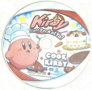 Kirby Right Back at Ya Kids Cook Kirby DVD Double Shot Nintendo Anime DVD 2005