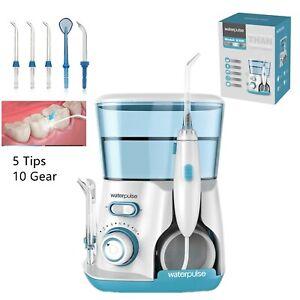 800ML Electric Water Jet Pick Dental Flosser Oral Irrigator Teeth Tooth Cleaning