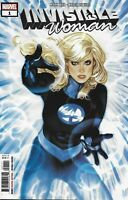 Invisible Woman Comic 1 Cover A Adam Hughes First Print 2019 Mark Waid Marvel