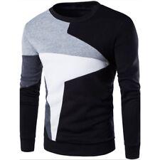 Fashion Men's Knit Cardigan Jacket Jumper Pullover Coat Long Sleeve Sweater Tops