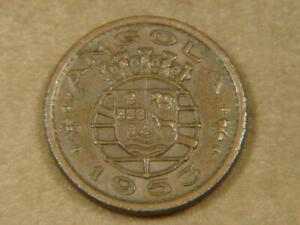 1953 Angola 50 Centavos Coin