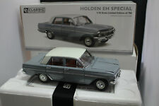 0.1.18 CLASSIC CARLECTABLES HOLDEN EH SPECIAL SEDAN GUNDAGAI GREY LTD ED  #18405