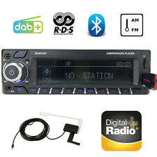 Bluetooth Car Radio Stereo DAB+RDS AM/FM Handsfree Head Unit MP3/WMA USB AUX SD