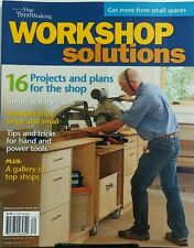 Fine Woodworking Workshop Solutions Winter 2017 Projects Plans FREE SHIPPING sb