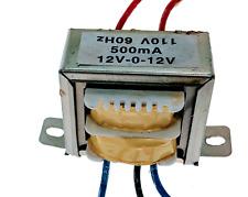 VCT 110v/115v/120v 60Hz 24V, 500mA Center Tapped (12-0-12) Transformer