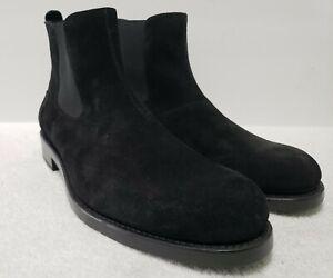 NEW Wolverine 10D Montague 1000 Mile Black Leather Suede Chelsea Boots S W40491