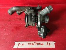 TURBINA TURBOCOMPRESSORE COLLETTORE MINI COUNTRYMAN R60 1.6 DIESEL 54359700056