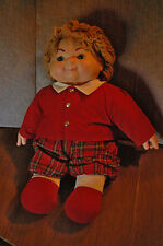 "22"" One Doll SCOTTISH TWIN GLEN House of Lloyd 1993 Heather & Glen Orig Clothes"