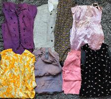 Vintage 1940s 1950s 1960s Dress Pant Lot REPAIR Novelty Skirt Sequins Floral
