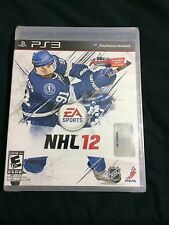 PS3 PlayStation network NHL 12 Brand New Sealed
