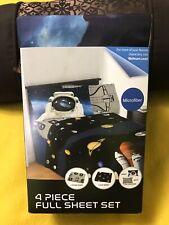 Space Shuttle  & Space 4 Piece Full Sheet Set