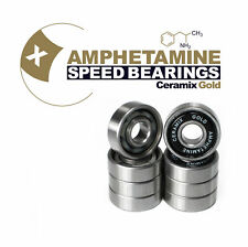 Amphetamine Bearings Skateboard Kugellager Ceramics gold