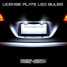 White LED Bulbs License Plate LED Lamp Lights For Nissan Maxima