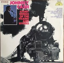 Johnny Cash & The Tennessee Two  Story Songs Of The Trains And Rivers - Vinyl LP
