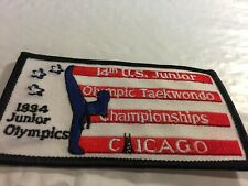 Chicago Tae Kwon Do Championships Patch 1994