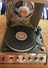 LENCO L55s Vintage Turntable Record Player/Statler Vari-speed Model 100 player