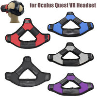 Soft For Oculus Quest VR Headset Head Cushion Leather Strap Pad Headband Fixing