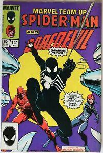 Comic Book - Marvel Team-Up Spider-Man & DareDevil - #141 May 1984