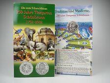 *** 5 EURO Gedenkmünze ÖSTERREICH 2002 Tiergarten Schönbrunn im Folder Silber **