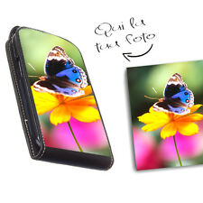 custodia in eco pelle personalizzata con foto cover per Lg Optimus F6 D505