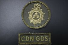 CANADIAN GUARDS Embroided Patch.Tile
