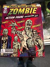 Create Your Own Zombie Action Figure Customizing Kit Previews Exclusive + Bonus