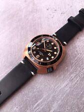 TC-9 Bronce automático divers watch - 300m WR-movimiento Seiko. diseño de tortuga