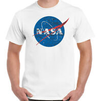 NASA - UOMO GEEK SECCHIONE Big Bang Theory T-Shirt CON LOGO retrò space Sheldon