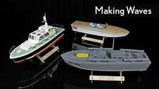 THE WOODEN MODEL BOAT COMPANY 400 SERIES RC BOAT KITS