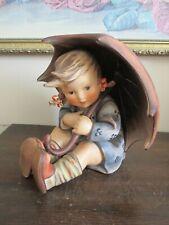 """Vintage Large Hummel Goebel W Germany 1957 Umbrella Girl Figurine 152  II  B 8"""""""