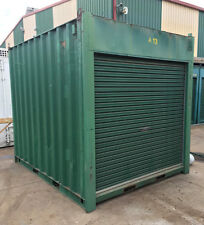 10ft / 3m long approx 8'6 High shipping container / Portable storage shed