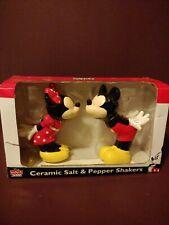 Disney Salt & Pepper Mickey and Minnie Spice of Life Salt & Pepper Shaker Set