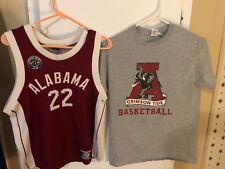 Alabama Crimson Tide Throwback Basketball Jersey And Shirt