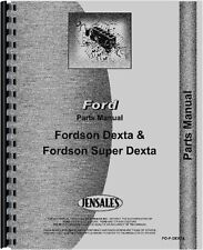 Ford Dexta Tractor Parts Manual FO-P-DEXTA{71774}