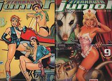 L' ETERNAUTA JUNIOR completa 1 2 3 4 CPL comic art 1993 - 1994 kelly green
