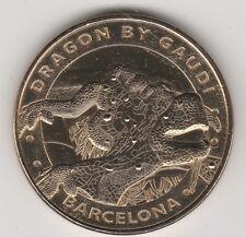 2014 COIN JETON MEDAILLE MONNAIE DE PARIS -- ESPAGNE N°6 BARCELONA DRAGON GAUDI