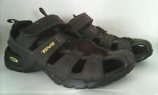 TEVA Men's Forebay Shoc Pad Sandals US Size 9 Brown Coffee Style 1001116 Shoes