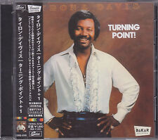 TYRONE DAVIS - turning point CD japan edition